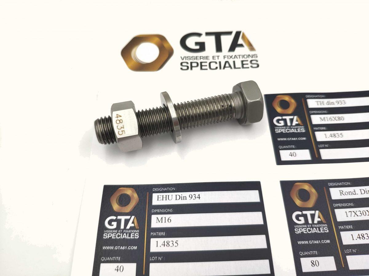 Visserie 1.4835 253MA - S30815 -GTA