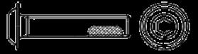 ISO 7380-2 Frein filet -GTA