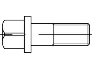 Vis à tête carrée à embase cylindrique din 478