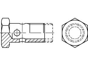 Vis creuse simple DIN 7643
