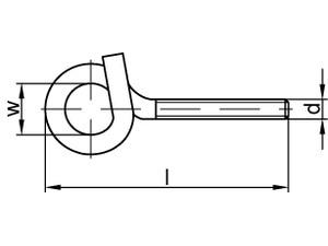 Crochet pour charge lourde type 18E