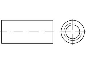 Manchon cylindrique