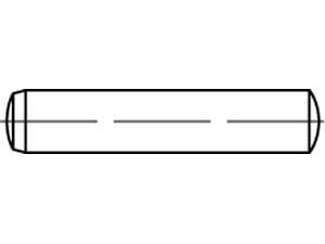 Goupille cylindrique rectifié - Din 6325 -  ISO 8734 - NFE 27475