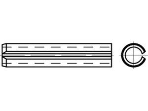 Goupille élastique, type léger - Din 7346