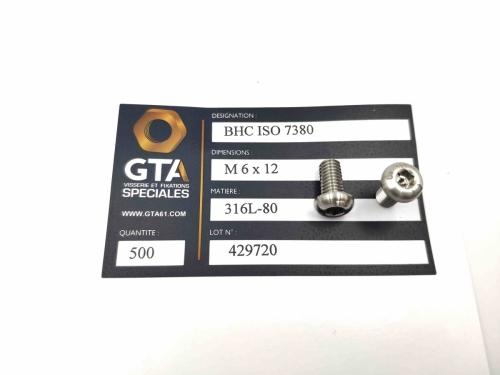 BHC ISO 7380 - 316L-80 -GTA