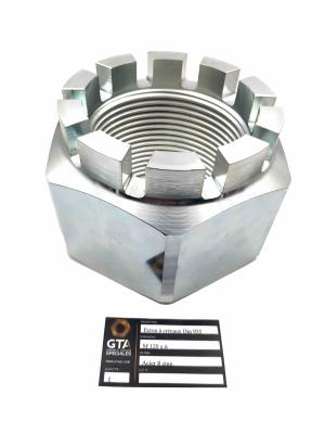 Ecrou à crénaux Din 935 M 120 Acier 8 zing -GTA