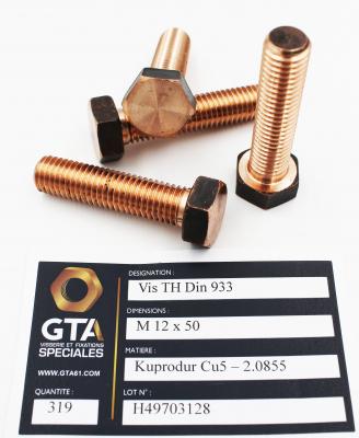 Screw Kuprodur Cu5 - GTA