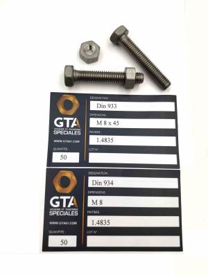 Visserie 1.4835 -GTA