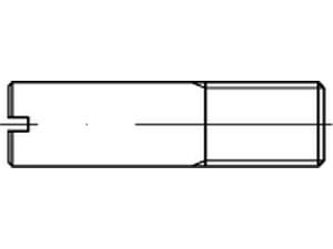 Vis sans tête fendue filetage partiel DIN 427 - ISO 2342