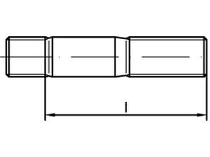 Goujon (engagement 1,25 x d) - DIN 939
